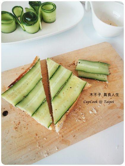 奶油黃瓜烤吐司 (4)