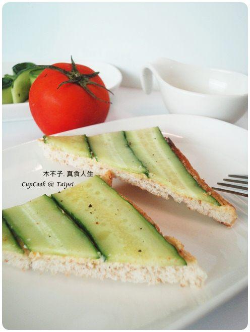 奶油小黃瓜烤吐司 cucumber (4)
