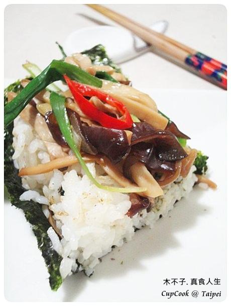 黑木耳炒杏鮑菇 mashroom 食譜成品 (5)