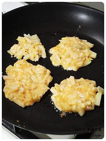 起司馬鈴薯煎餅 Potato hash (6)