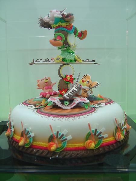 2010烘培展杏仁糕蛋糕冠軍.