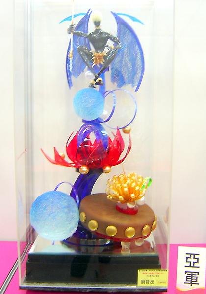 2010烘培展拉糖工藝蛋糕比賽亞軍