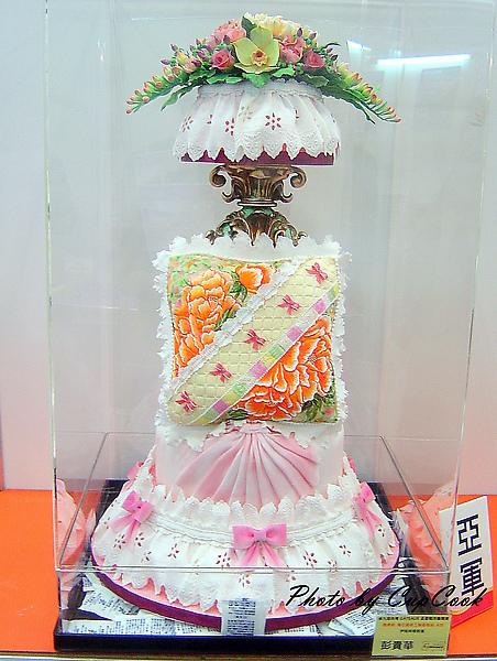 2010烘培展糖花蛋糕比賽亞軍