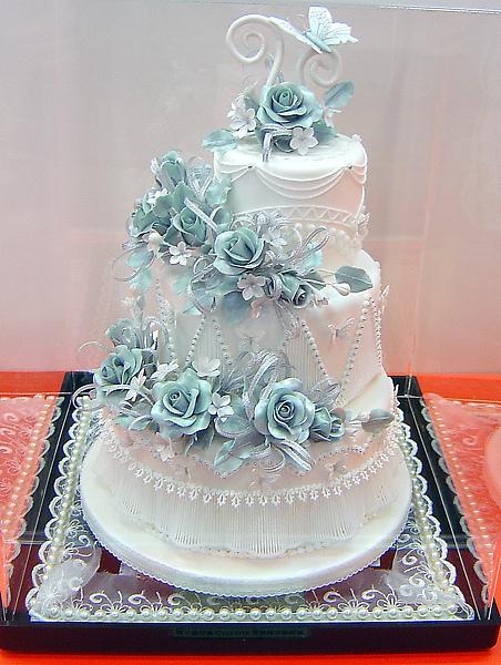 2010烘培展糖花蛋糕比賽亞軍_學生組