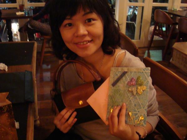 我的禮物跟卡片~~