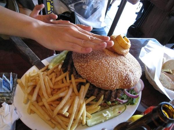 超級大漢堡