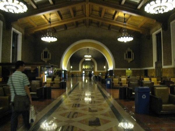 晚上的Union Station