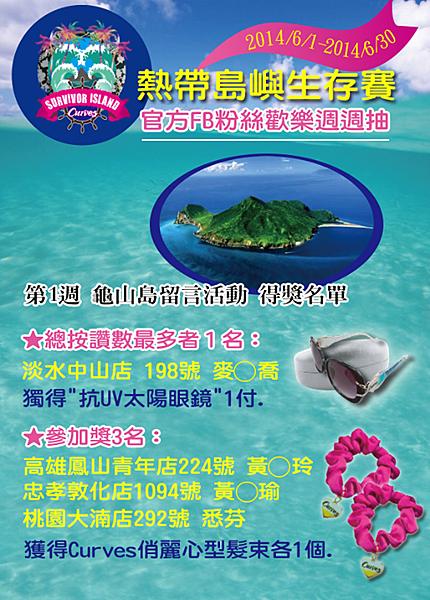 龜山島得獎