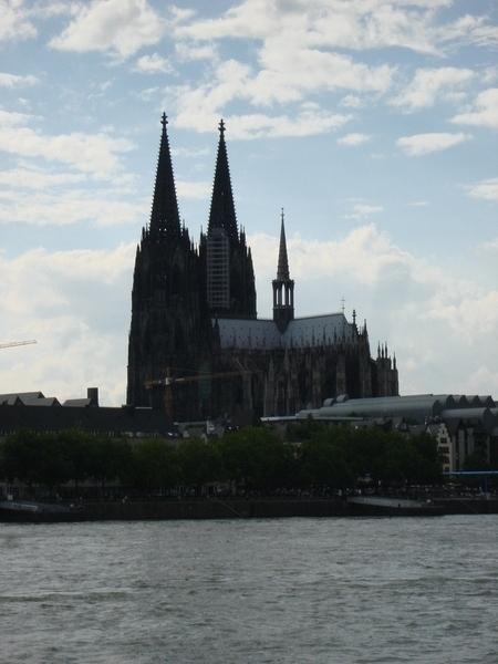 科隆大教堂全景