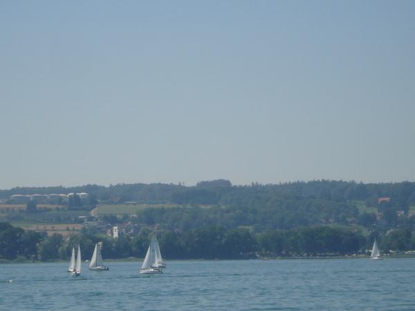 巴登湖的風帆