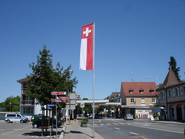 到瑞士的唯一證據-國旗