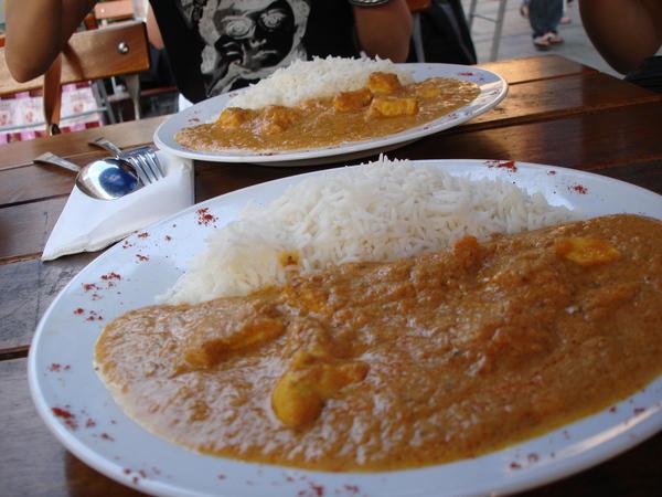 印度咖哩飯
