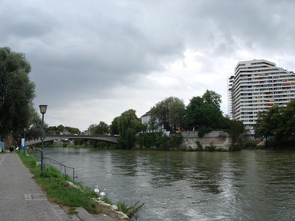 這就是地理課本上的多瑙河
