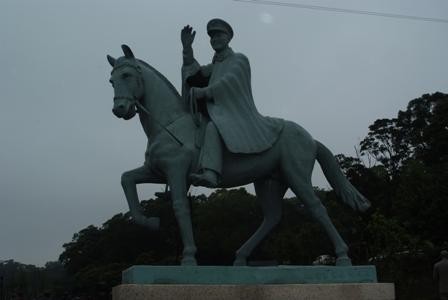 騎著馬的蔣公