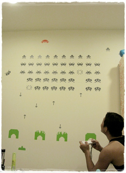 the game wall