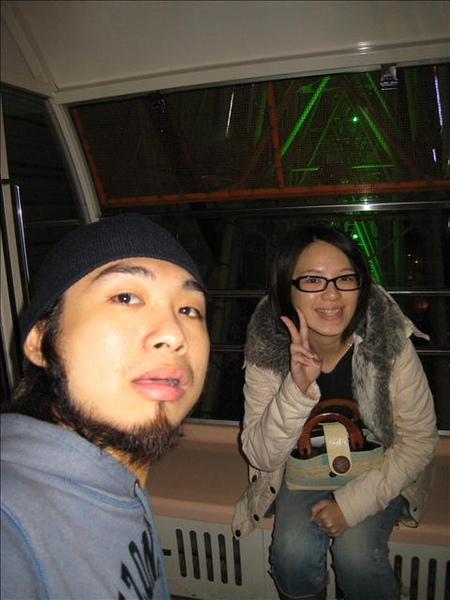 我們在一起的前夕是在摩天輪邂诟