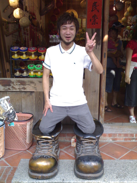 寶貝的大鞋