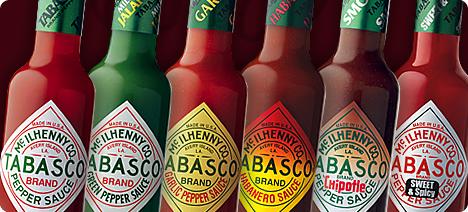 Tabasco flavor