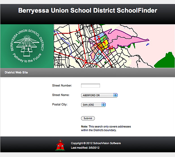 Berryessa school district