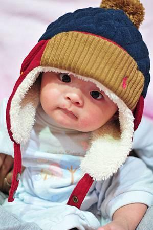 2013.12.8 戴新帽子