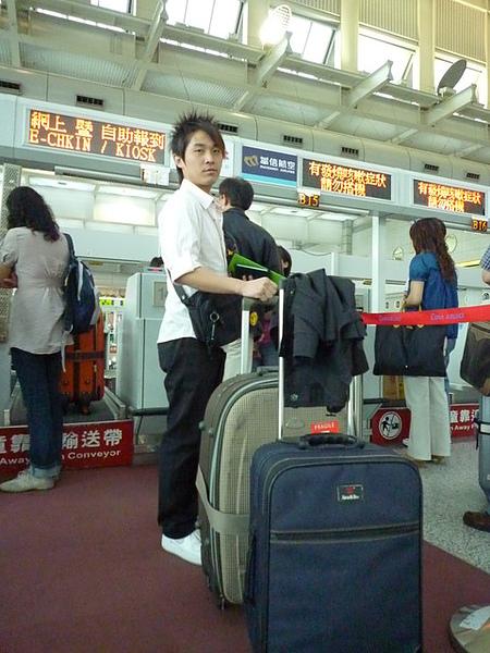 小港機場check in