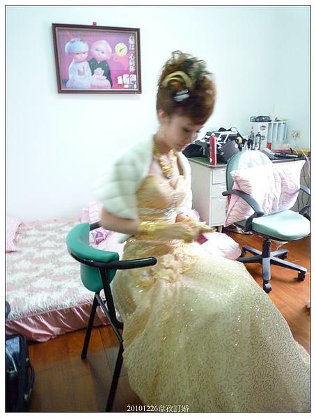 新娘子好美喔