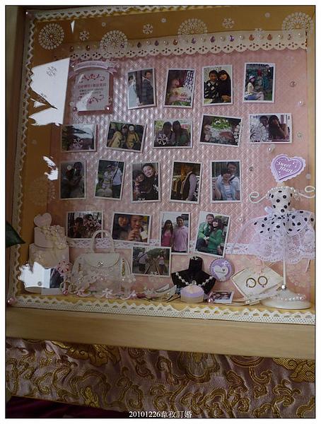 新娘韋孜訂做的小熊櫥窗