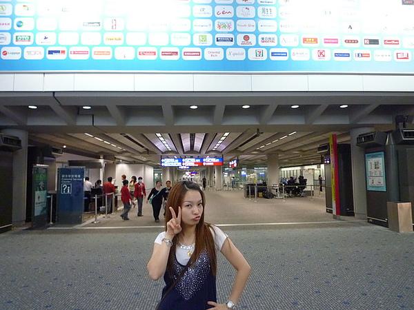 香港機場..OH~YA