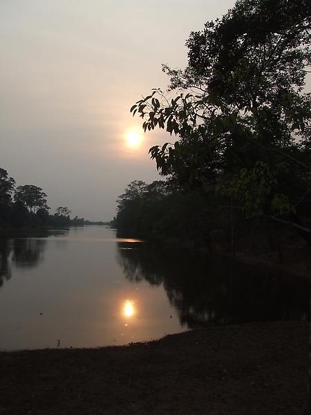 大吳哥的夕陽