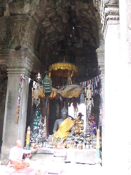 是供俸佛教的寺廟
