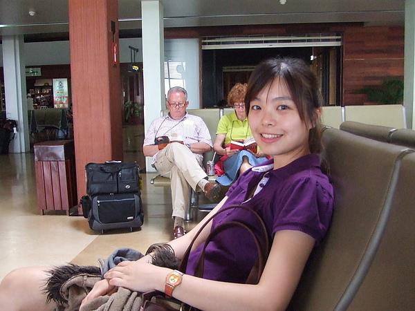 等著回台灣了