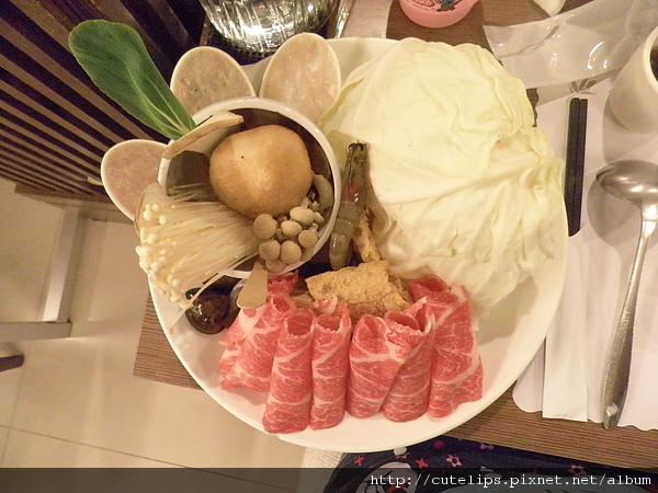 梅花豬肉火鍋料