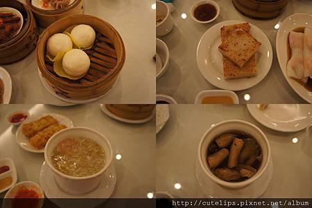 流沙包、蘿蔔糕、港式濃湯&燉品例湯