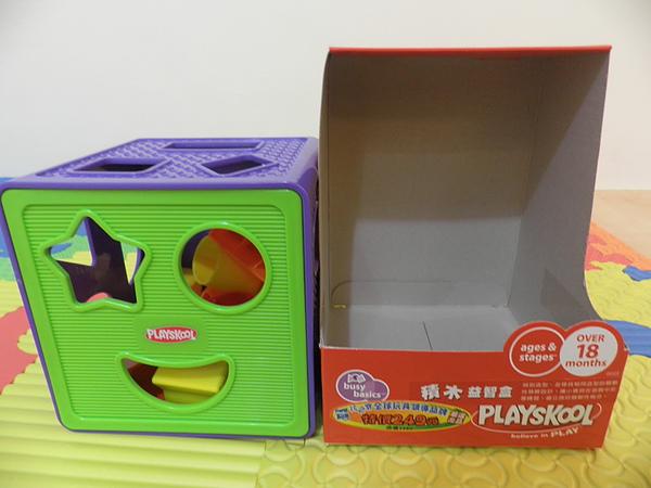 兒樂寶積木益智盒