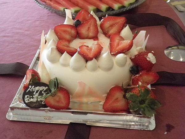 訂製草莓香草蛋糕~大姑的