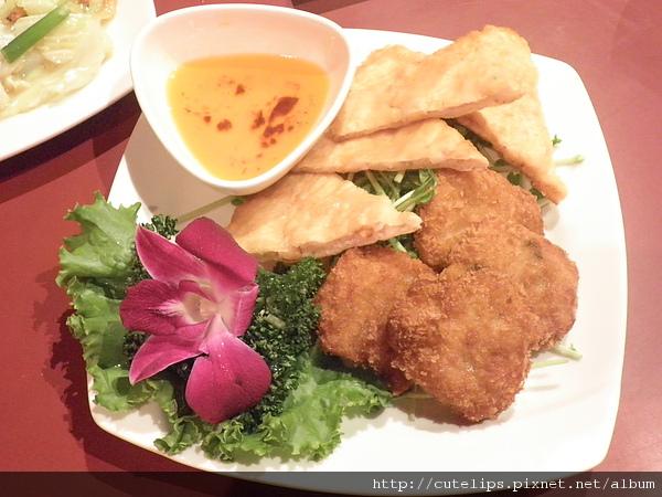 泰味酥炸拼盤(月亮蝦餅&海鮮餅)