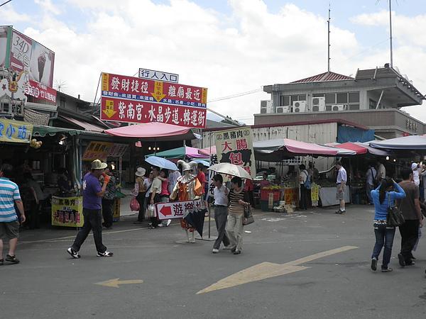 紫南宮外商店街