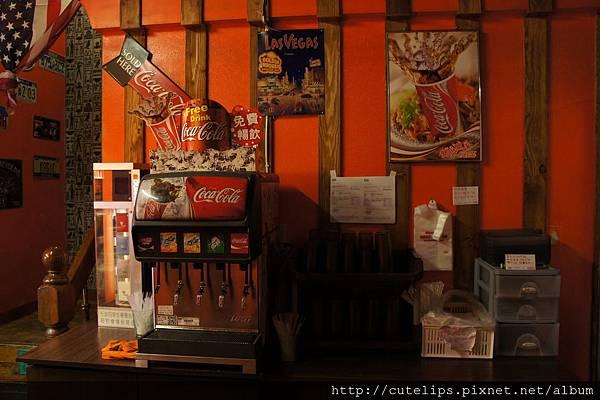 自助飲料區