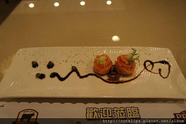 前菜~鮭魚