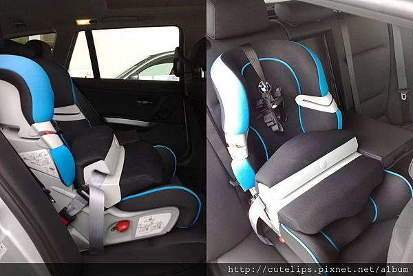 BMW ISOFIX兒童安全座椅-藍色款