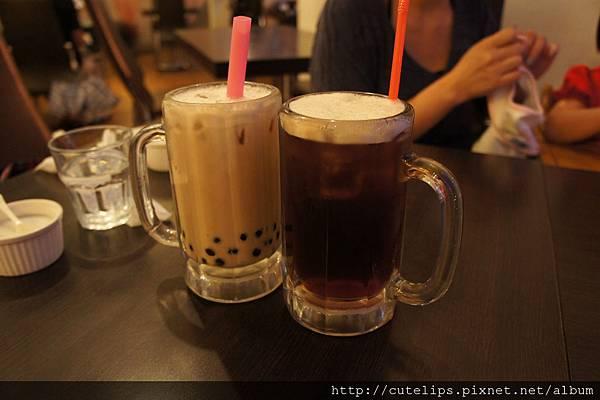波霸奶茶&紅茶