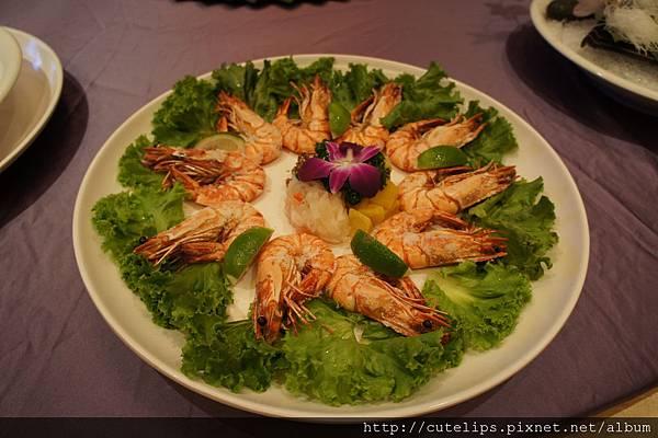 鹽燒特大蝦