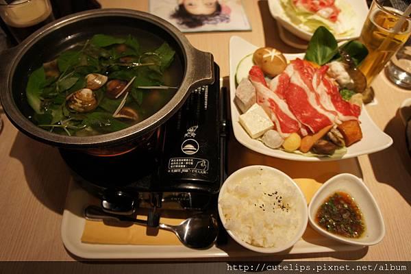 白酒蛤蜊牛肉鍋
