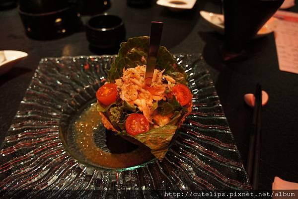 櫻花蝦大根沙拉