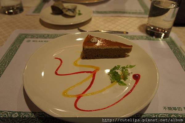 甜點-咖啡蛋糕