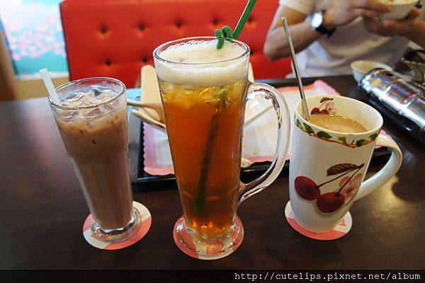 阿華田、高山烏龍&熱奶茶