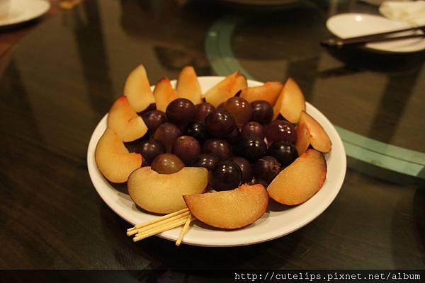 招待的水果