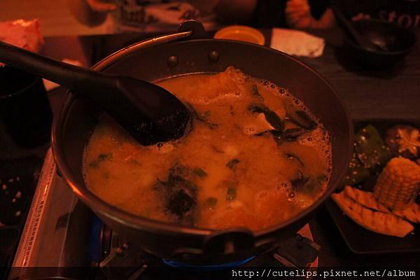 熊蝦附贈的味噌湯