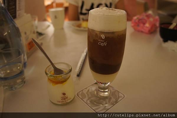 自製奶酪&冰鴛鴦鮮奶茶