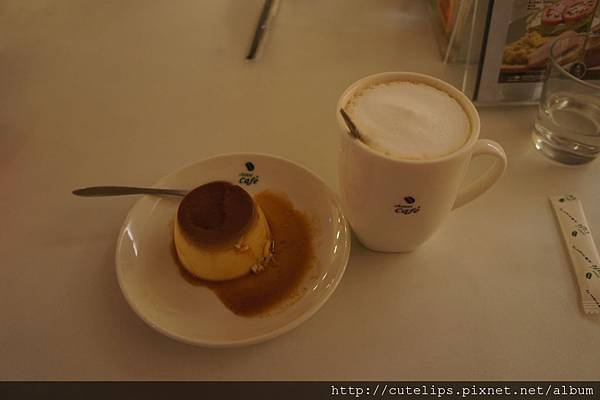 焦糖烤布丁&伯爵鮮奶茶